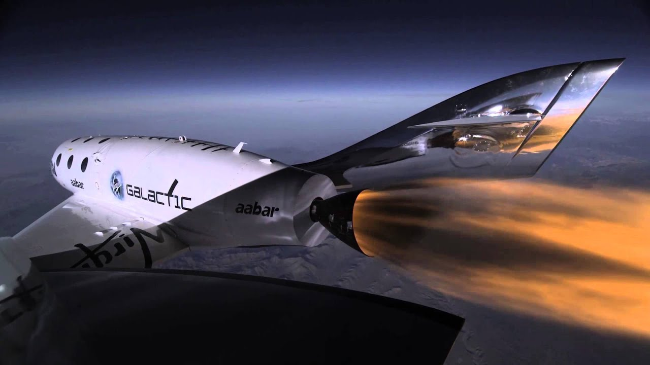 SpaceShipTwo's 3rd Powered Flight Soars To New Heights ... - photo#8