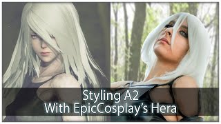 Styling A2 | EpicCosplay's Hera in Classic White
