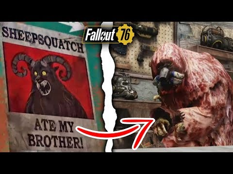 Fallout 76 Players Just Discovered New Legendary Vendor, & Sheepsquatch Quest Details! thumbnail