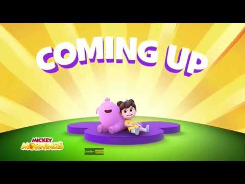 Remy And Boo Coming Up Bumper (Mickey Mornings) - Disney Junior Asia