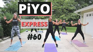 30 Minute PiYO Express #60 | At HOME No Equipment | Low-impact