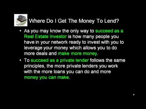 Private Lending On A Budget