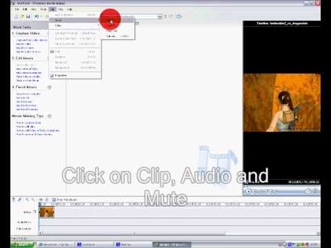 How To Mute A Video In Windows Movie Maker