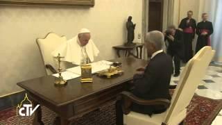 教宗接见基里巴斯总统,谈及气候变化问题