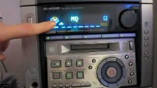 Aiwa XR-HG5MD Minidisc Stereo