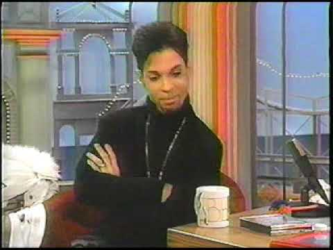 Prince on the Rosie Odonnell show Interview 1997