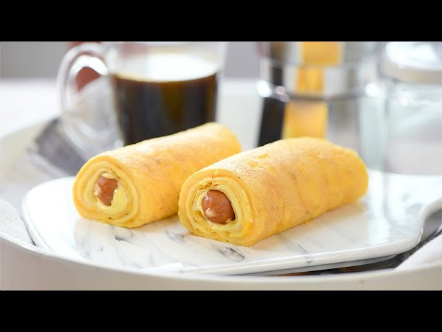 Egg Rolled Cheese Sausage