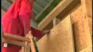 Эковата. Утепление каркасного дома своими руками, пол, стены, мансарда.(, 2013-05-16T10:04:54.000Z)