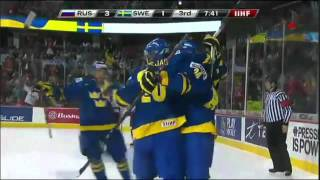 Ryssland - Sverige 3-4 VÄNDNINGEN! JVM 2012
