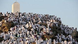 Hacı adayları Arafat'a ulaştı