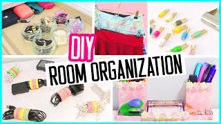 Diy Room Organization + Hacks! Low Cost Desk And Room Decor! Spring Cleaning