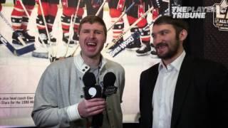 Ilya Bryzgalov - Interviews Alex Ovechkin