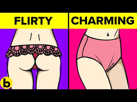 What Your Underwear Says About Your Personality Type