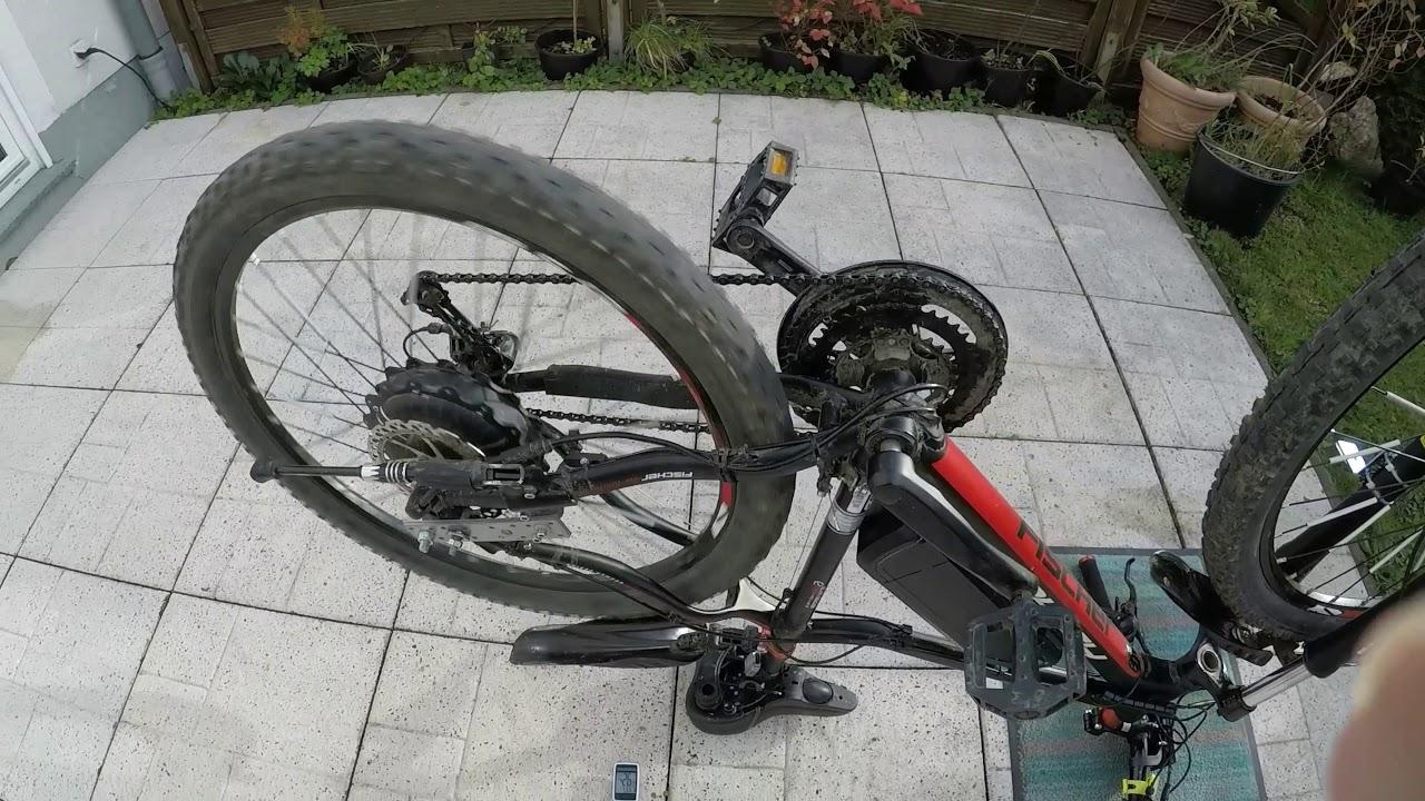 neu unglaublich fast 100 kmh mit fischer e bike ohne. Black Bedroom Furniture Sets. Home Design Ideas