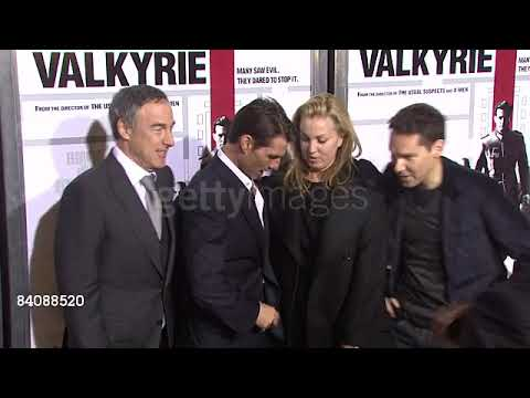 Tom Cruise, Bryan Singer at the Valkyrie Premiere