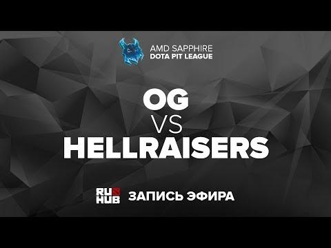 OG vs HR - Dota Pit Minor EU Final - G3