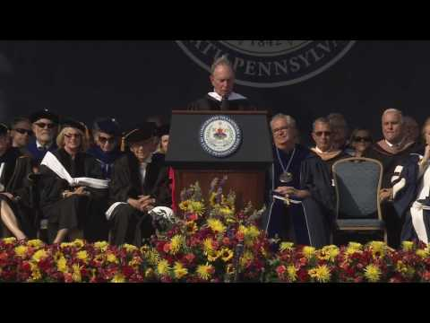 Michael R. Bloomberg Commencement Address