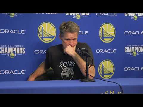 Kerr Start says Warriors need to start games faster
