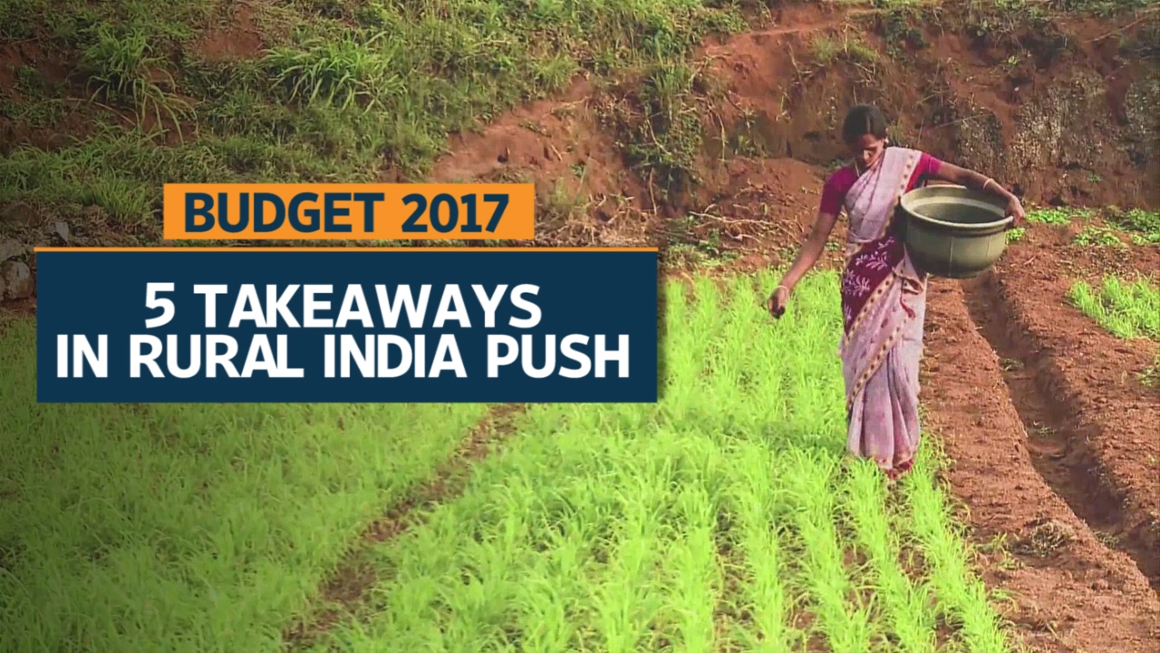 Budget 2017 | Rural India shines bright in Jaitley's budget