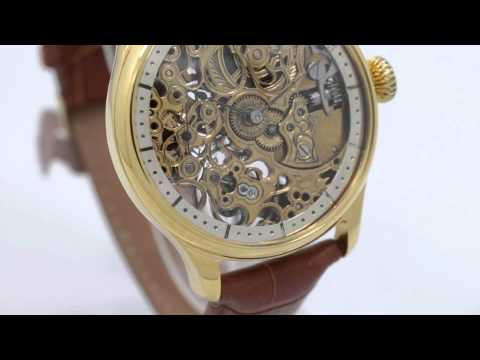 1909 patek philippe 15 jewels high grade pocket watch movement skeleton youtube for Patek philippe skeleton