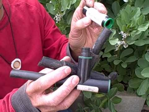 How To Convert Your Existing Sprinker System A Drip Irrigation For Raised Bed Garden