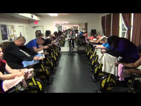 Spin Class, Camp Parks California, Kimberlee Hilliard
