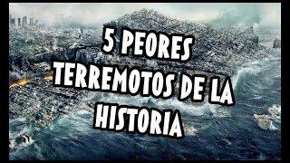 Los 5 Peores Terremotos De La Historia - Interesante - Worst Earthquakes In History