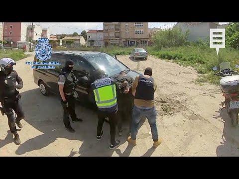 Así ha sido la espectacular detención de los atracadores de Nueva Condomina