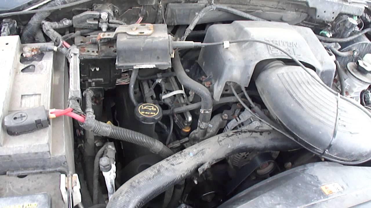 2004 Ford F150 Engine Diagram Wein Bridge Oscillator Circuit 2001 F 150 Xl V8 5 4l Under The Hood Youtube