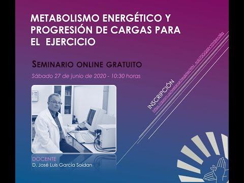Metabolismo energético y progresión de cargas para el ejercicio