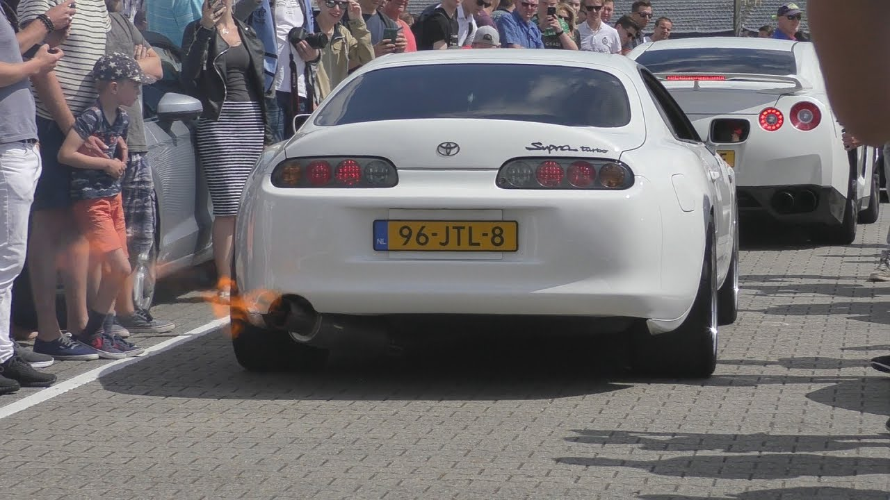 700HP Toyota Supra GT4202R  FLAMES U0026 Sounds!