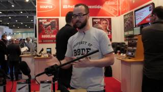 Rode NTG8 Shotgun Microphone - BVE 2015