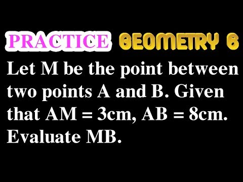 The point lies between two points (Exercise 1) | Online Courses | Geometry 6 | Math Garden | 4K
