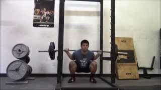SuperSquats Week 4 Workout 3 6 13 15