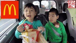 ドライブスルーと洗車機 McDonald's Drive Thru And Car Wash Machine thumbnail