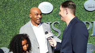 Mike Tyson at the US Open Opening Night Gala Behind The Velvet Rope with Arthur Kade
