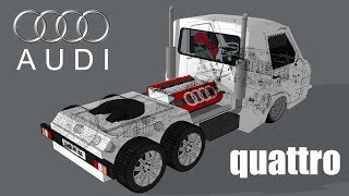 MINI-truck on AUDI chassis