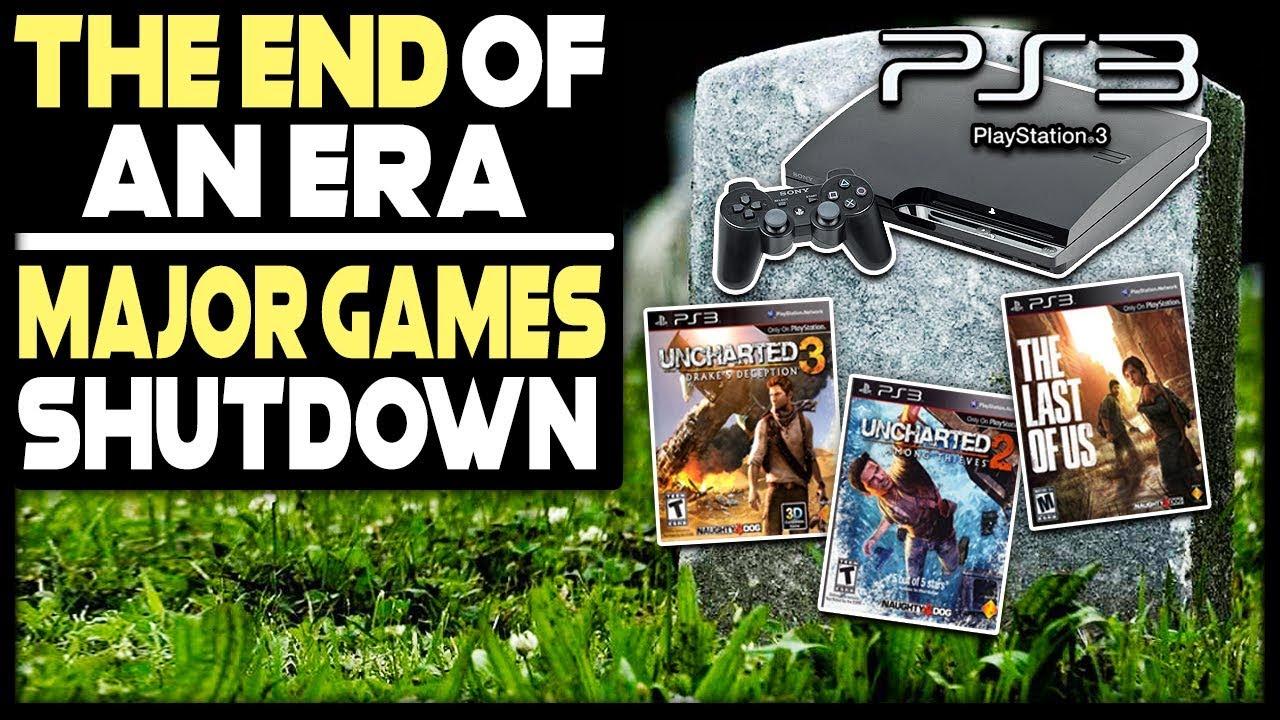 THE END OF AN ERA - MAJOR PLAYSTATION GAMES SHUTDOWN