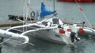 Sailing Hydrofoil CATRI 24 trimaran - Latvia to England