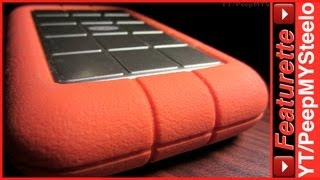 Lacie Hard Drive in Rugged 500Gb to 1TB or 2TB Firewire & USB External Disk Drives w/ Power Supply