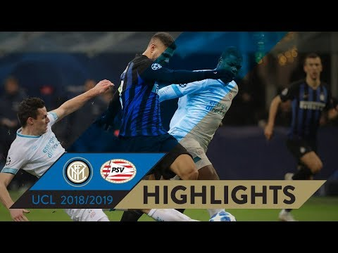 INTER 1-1 PSV | HIGHLIGHTS | Matchday 06 - UEFA Champions League 2018/19