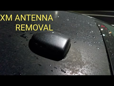 HOW TO REMOVE A XM ANTENNA TUTORIAL