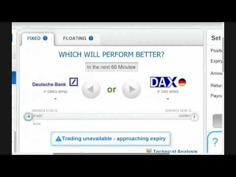 Deutsche Bank vs DAX live trading pair options