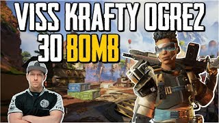 Download Viss Dropping The 30 Bomb w/ Krafty and Ogre2 Apex Legends Mp3 and Videos