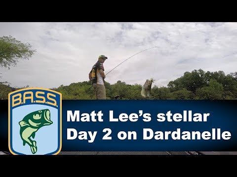 Matt Lee's stellar Day 2 on Dardanelle