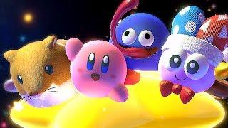 Unlocking New Friends In Kirby Star Allies + Final Boss Battle & Ending w/ Rick Kine Coo Marx Gooey
