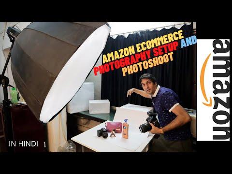 AMAZON ECOMMERCE PHOTOGRAPHY SETUP AND PHOTOSHOOT | HINDI