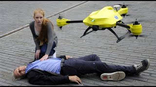 TU Delft - Ambulance Drone(Each year nearly a million people in Europe suffer from a cardiac arrest. A mere 8% survives due to slow response times of emergency services., 2014-10-26T20:00:10.000Z)
