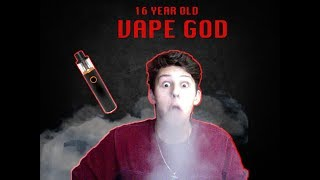 MY FIRST TIME VAPING!