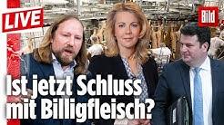 🔴 Wie schlimm sind die Bedingungen in deutschen Schlachthöfen wirklich? | Die richtigen Fragen LIVE